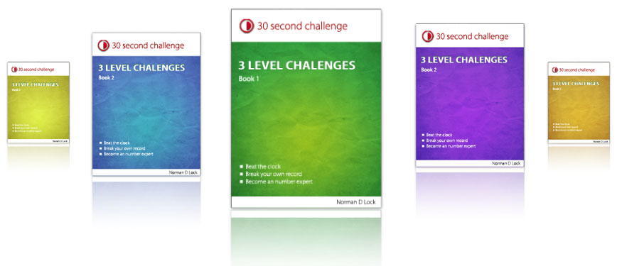 3 Level Challenge Books